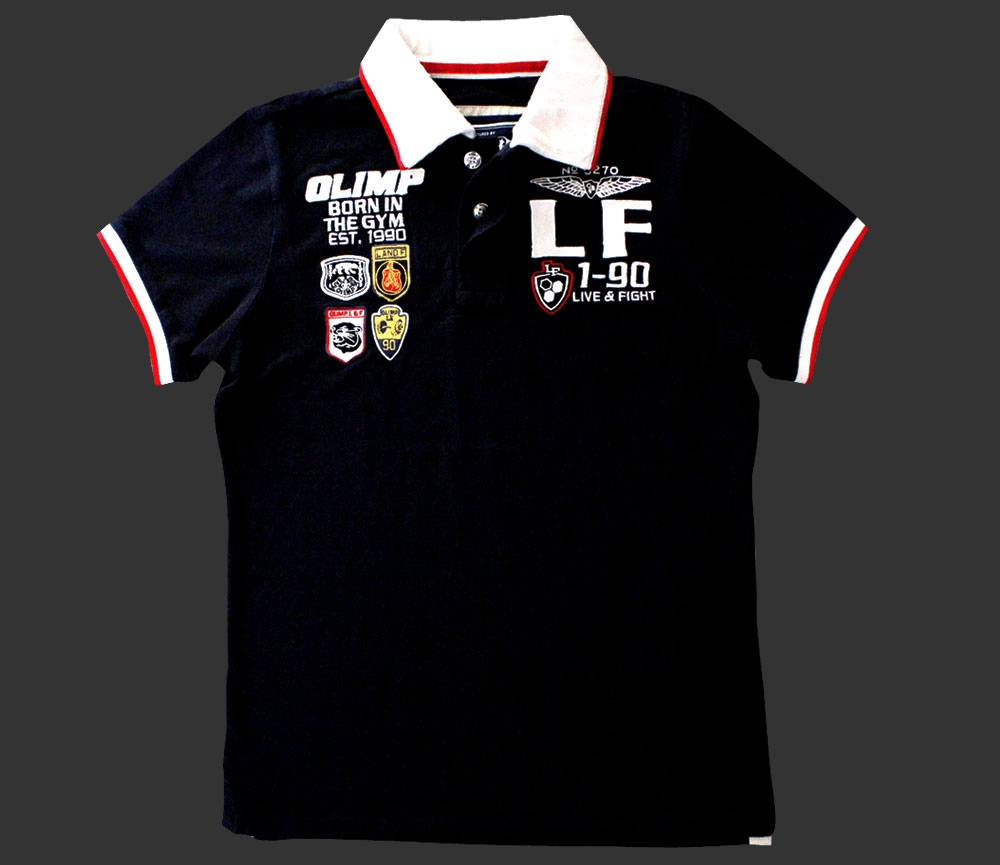 GYM PARAMOUNT POLO White Olimp Live and Fight
