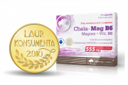 Golden consumer laurel 2010 for Chela-Mag B6® and Therm Line®