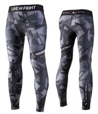 MENS LEGGINGS - ATHLETIC CAMO black