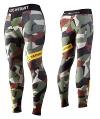 MENS LEGGINGS - ATHLETIC CAMO classic