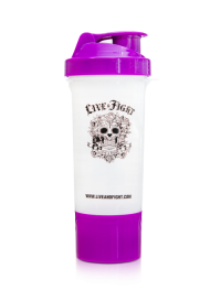 LADY'S SHAKER RED ROSE STRENGTH 400ml purple&white